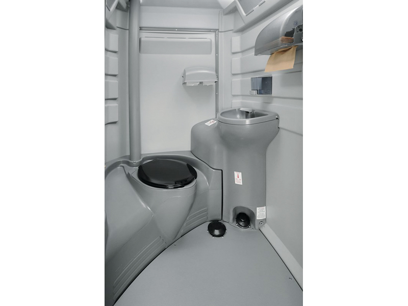 Fleet Portable Toilet - Interior